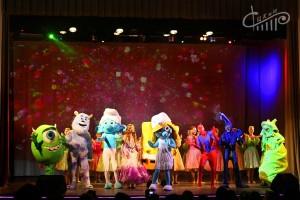 Шоу ростовых кукол «Приключения мультяшек»