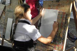 Дети и живопись. Мастер-классы российских художников в рамках уникального проекта