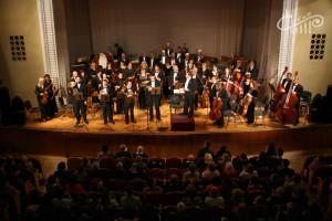 Первая в новом году встреча севастопольцев с оркестром КГФ прошла в СЦКиИ