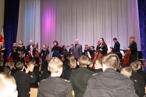 Севастопольский симфонический оркестр в гостях у кадетов