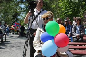 Артисты СЦКиИ открыли Летнюю эстраду Приморского бульвара
