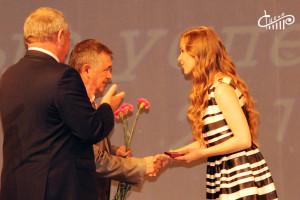 Севастопольских выпускников-медалистов наградили в СЦКиИ