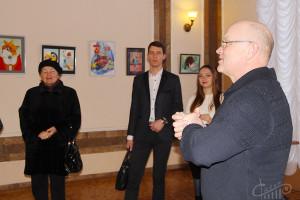 Первая выставка 2017 уже в СЦКиИ