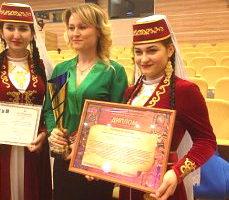 «Акъяр» возвратился из Сочи с дипломом лауреата