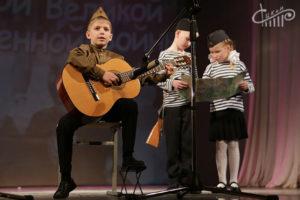 Юные таланты Севастополя во второй раз приняли участие в конкурсе «Мы — наследники Победы».