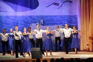 С Днем ВМФ поздравляет «Черное море»!
