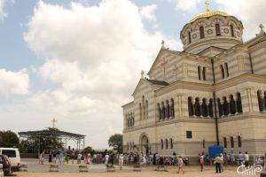 «Черное море» в День Крещения Руси в Херсонесе