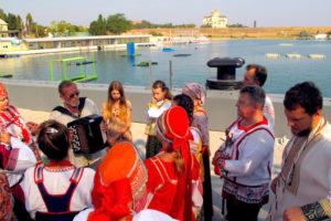 Ансамбль «Русь» на международных армейских играх в Севастополе