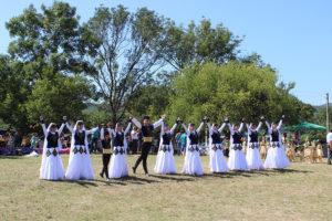 Ансамбль «Акъяр» СЦКиИ украсил празднование Курбан-байрама