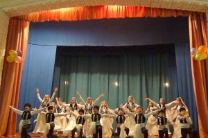 Ансамбль Акъяр в рамках акции «Севастополь выбирает будущее!»