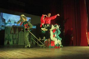 «Бременские музыканты» на выпускном в школе №22