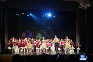 Отчётный концерт народного хореографического и образцового вокального ансамблей «Акъяр»