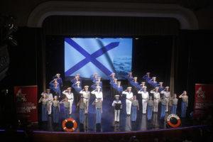 Студия «Черное море» выступила на закрытии фестиваля «Победили вместе»