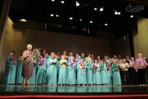 Юбилейный концерт хора «Красная гвоздика»