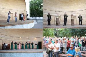 Артисты СЦКиИ выступили на Приморском бульваре