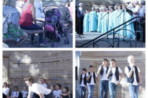 Концерт на «Ракушке» от коллективов СЦКиИ