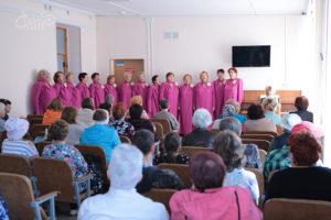 День пожилого человека: концерт ансамбля «Мечта»