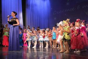 Концерт школы танца «Ультрамарин»
