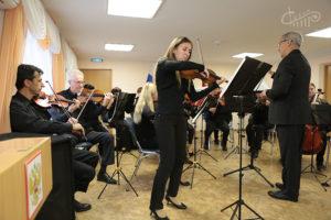 «Урок живой музыки» в СШО №60