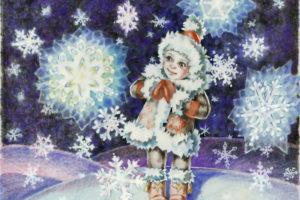 Открытие выставки «Сказочные снежинки детства»