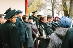 Мемориальная доска контр-адмиралу М.П. Бочкарёву