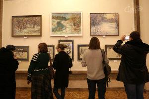 Выставка «Зимний пейзаж»