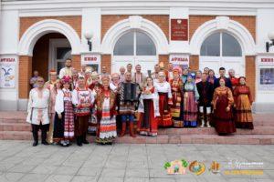 Ансамбль «Русь» выступил на фестивале в Липецке
