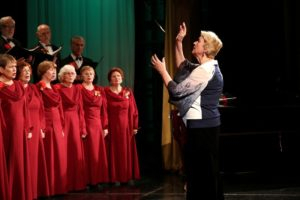 Концерт народного хора «Красная гвоздика»
