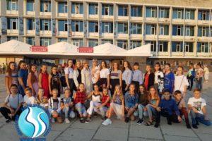 Воспитанники «Чёрного моря» побывали на концерте ансамбля русского народного танца «Берёзка»