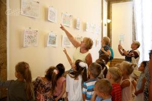 Выставка рисунков итальянских детей