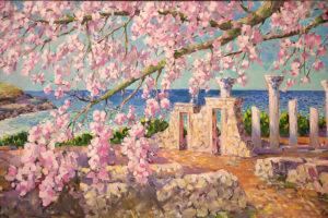 Выставка «Живописные звуки весны»