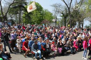 В День весны и труда – весело и вместе! Открытие летней эстрады Приморского бульвара