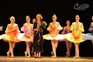 Отчётный концерт образцового ансамбля классического танца «Арабески»