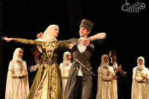 Чеченский ансамбль «Вайнах» выступил в СЦКиИ