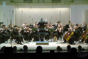 Концерт Омского оркестра прошел в виртуальном зале СЦКиИ