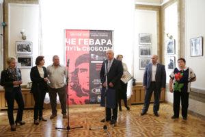 Фотовыставку «Че Гевара. Путь Свободы» в Севастополе открыл сын революционера Эрнесто Гевара