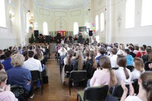 Урок живой музыки в школе №3