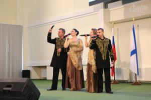 «Жар-птица» выступила перед курсантами ЧВВМУ им. П.С. Нахимова