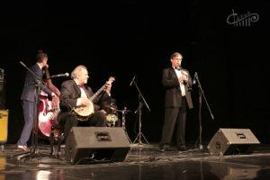 Мишель Вебер и Бернард Швентер выступили в СЦКиИ
