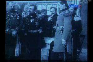 Показ фильма «Оборона Севастополя» (1911 г.)