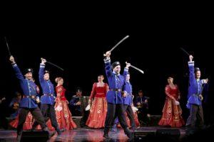 Концерт казачьего ансамбля «Ставрополье»