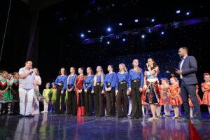 Видеозапись концерта Образцовой хореографической студии «Черное море»