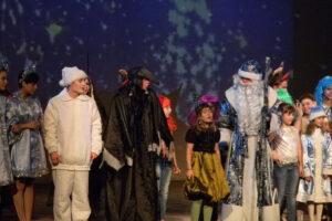 Запись детской сказки-мюзикла «Новогодние ахи-страхи»