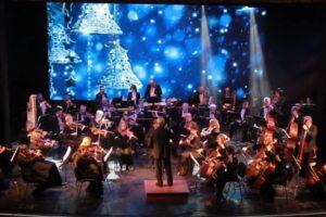 Запись новогоднего концерта Севастопольского симфонического оркестра