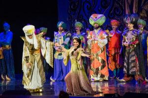 Мюзикл «Возвращение Джафара» показали во Дворце культуры рыбаков