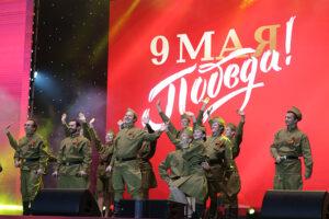 Концерт на главной площади Севастополя в День Победы