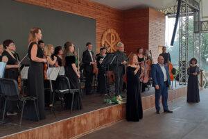 Концерт Севастопольского симфонического оркестра в Херсонесе