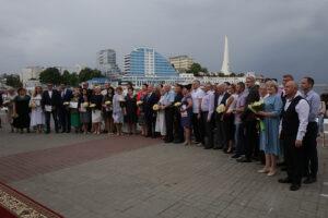 Тожественное награждение в честь Дня города Севастополя